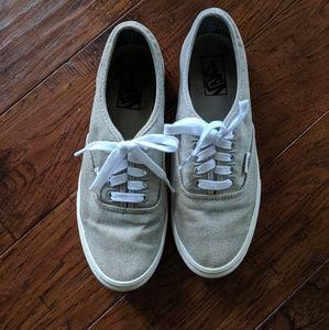 Van's Canvas Shoes